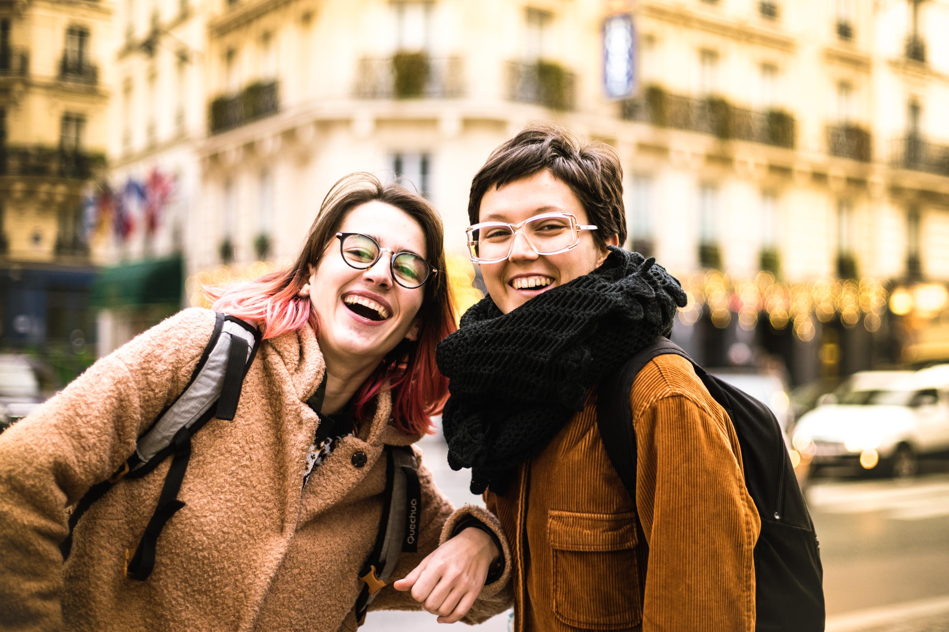 Louna et chloé