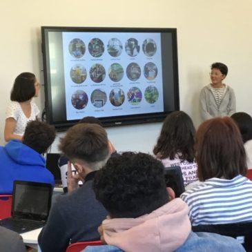 Le voyage pédagogique avec les élèves de Metz #01 – présentations